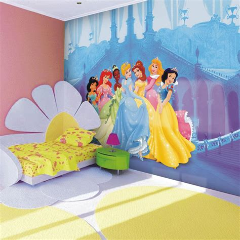 disney wallpaper room decor childrens bedroom disney character wallpaper wall mural