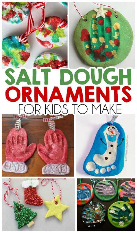 salt dough ornaments  kids    heart arts