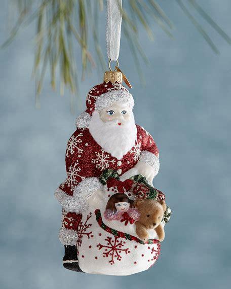 mattarusky ornaments santa   goods christmas ornament