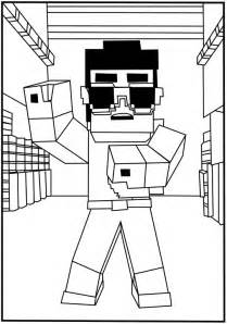 minecraft coloring sheet minecraft coloring pages selfcoloringpages