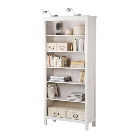 hemnes bookcase white ikea bedroom and home studio