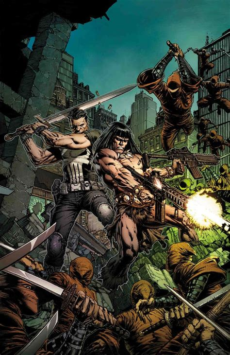 marvel comics universe august  solicitations spoilers savage avengers features conan