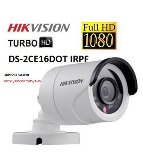 Murah Hikvision Turbo Hd Ds 2ce56dot Irp 2 Megapixel hikvision ds 2ce16c0t irp turbo hd bullet price at flipkart snapdeal ebay hikvision