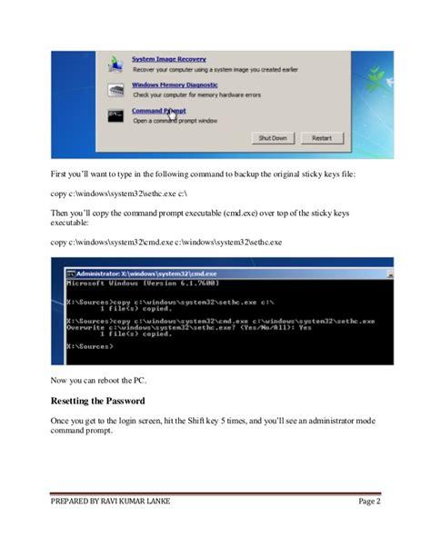 reset windows password easy how to reset your forgotten windows password the easy way