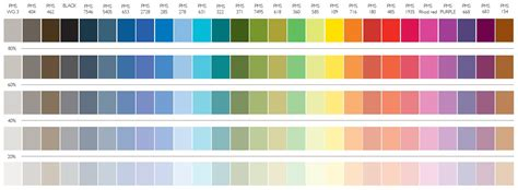 color from image tasmanian government communications colour palette
