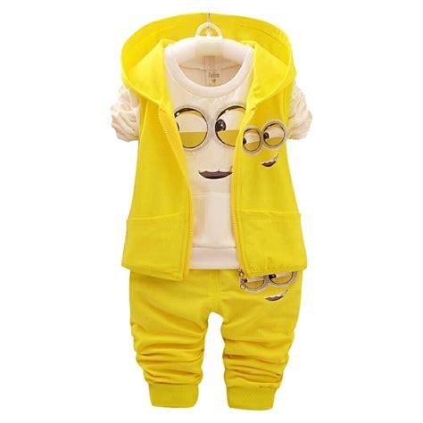 Rompi Cowok Set jual set minion boy rompi baju anak laki minions