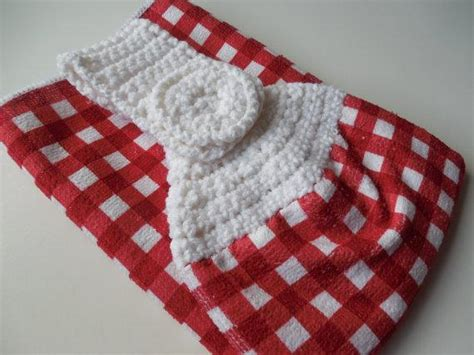 crochet pattern kitchen towel topper crochet towel topper full towel by shelleyscrochet craftsy
