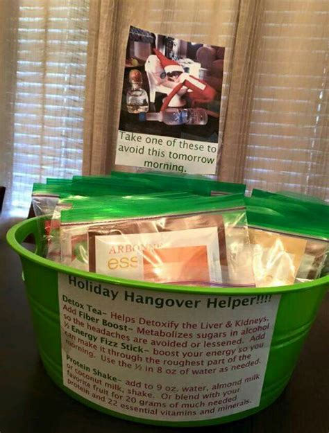 Hangover Detox Day by Hangover Kit From Arbonne 14294731 Arbonne