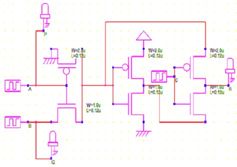 toffoli gate transistor implementation b mos transistor implementation of toffoli gate