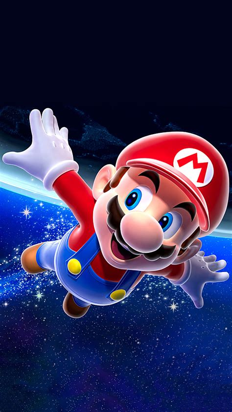 wallpaper for iphone mario mario galaxy iphone 5 wallpaper 640x1136