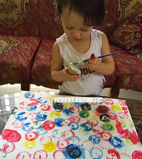 membuat anak jadi kreatif nak rangsang anak kreatif ikut cara ibu ini buat aktiviti