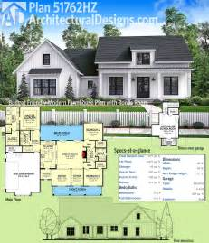 farmhouse building plans plan 51762hz budget friendly modern farmhouse plan with