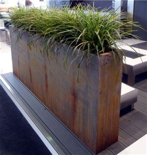 Corten Planter Boxes by 25 Best Ideas About Planters On Outdoor Potted Plants Black Planters And