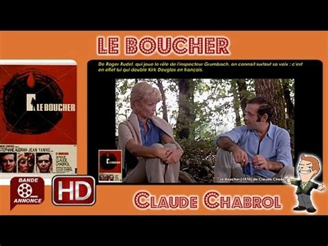 le boucher claude chabrol youtube le boucher de claude chabrol 1970 mrcinema 160 youtube