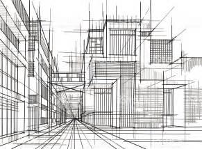 free architectural design black and white lines into an architectural drawing