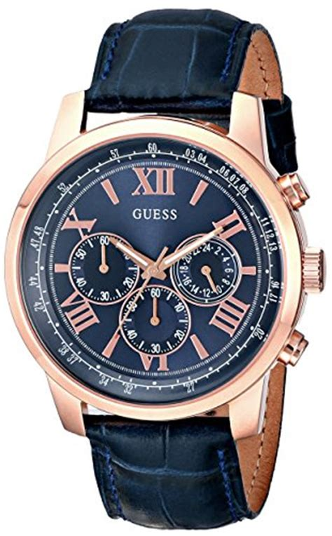 guess s u0380g5 iconic gold tone stainless steel