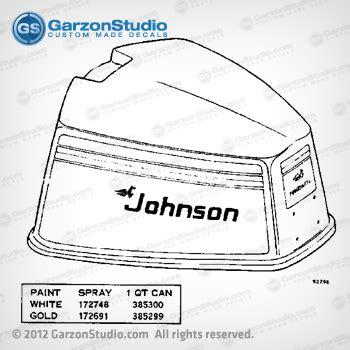 boat motor covers johnson 1975 johnson 85 hp 85esl75e decal set garzonstudio