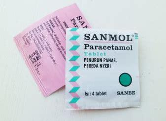 kegunaan sanmol paracetamol untuk obat penurun panas kegunaan manfaat obat apotik dan efek