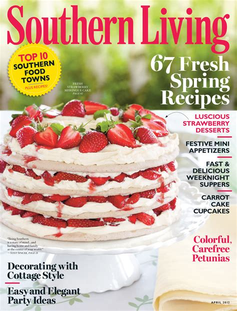 southern living southern living one year magazine subscription only 5