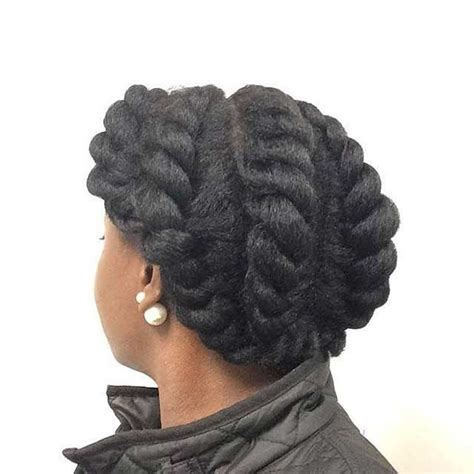updo hairstyles with big twist 21 gorgeous flat twist hairstyles stayglam