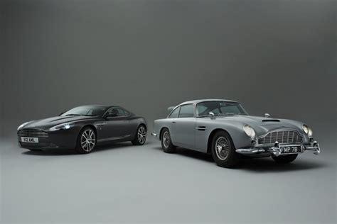 aston martin bond car aston martin db5 bond car meets db9 autoevolution