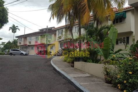 bedroom townhouse  rent  tallyman apartments st james townhouses