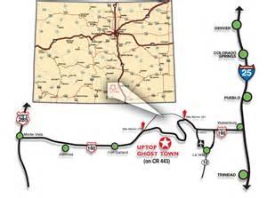 la veta colorado map la veta land for sale uptop ghost town for sale