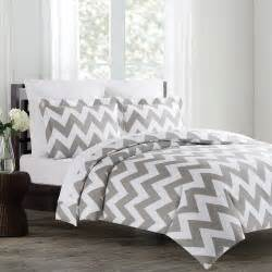 echelon home chevron duvet cover set walmart