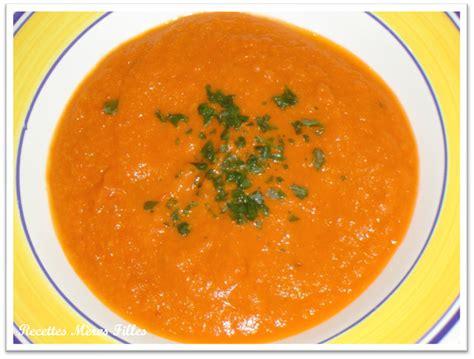 la recette soupe soupe 224 la tomate recettes m 232 res