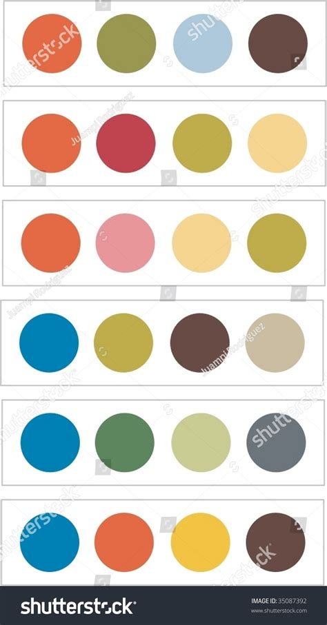 print or web color combinations stock image image color combinations stock vector illustration 35087392