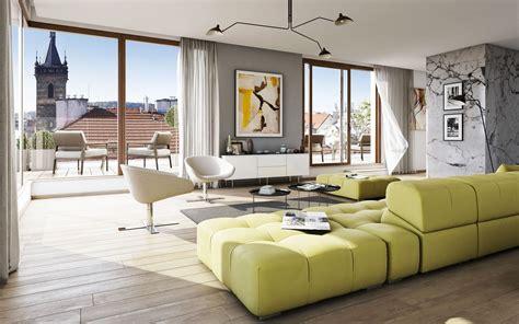 wallpapers stylish design living room interior