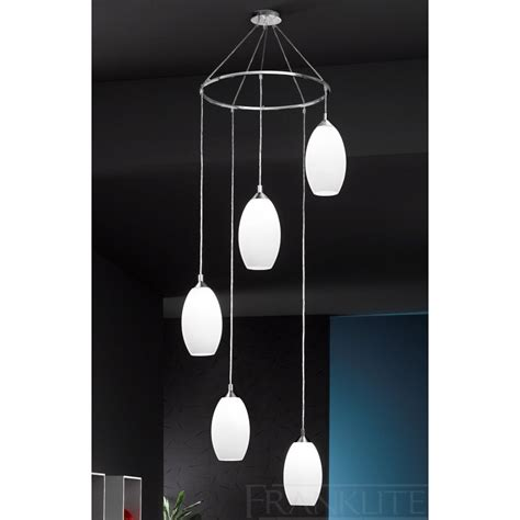 modern pendants fl2199 5 ceiling 5 chrome drop lights