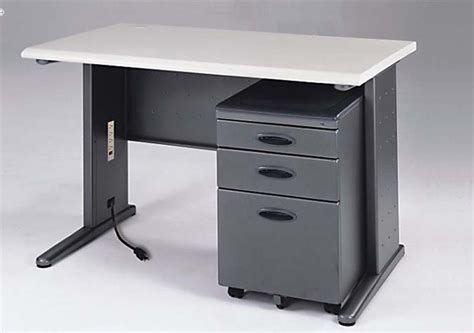 X Office Table Meja Komputer Industrial stainless steel computer table design with study table