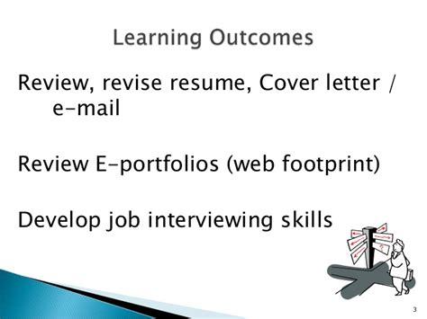 Resume Footprint Reviews Ait Job Prep Skills Seminar