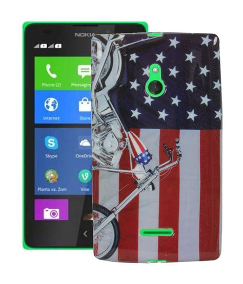 design cover for nokia xl redds fancy designer smooth silicon back case cover for