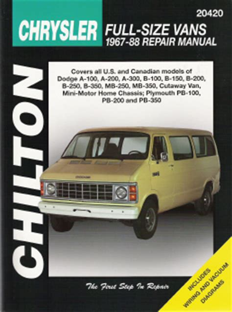 what is the best auto repair manual 1967 ford country user handbook 1967 1988 dodge plymouth vans chilton s total car care manual