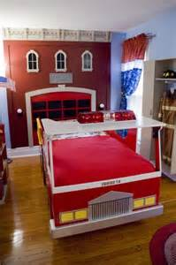 Fire Truck Bedroom Ideas Firefighter Bedroom On Pinterest Firefighter Room Fire