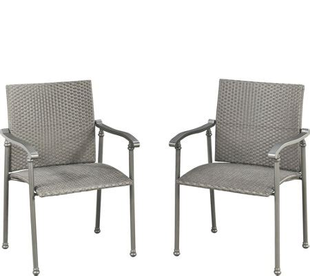 Umbria Set umbria set of two arm chairs qvc