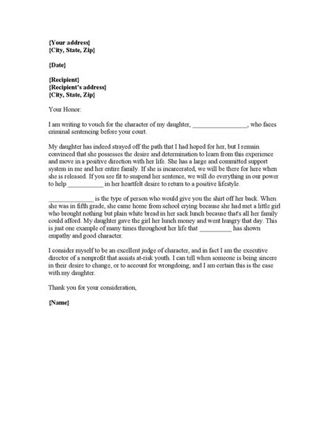 character reference letter for court jvwithmenow com