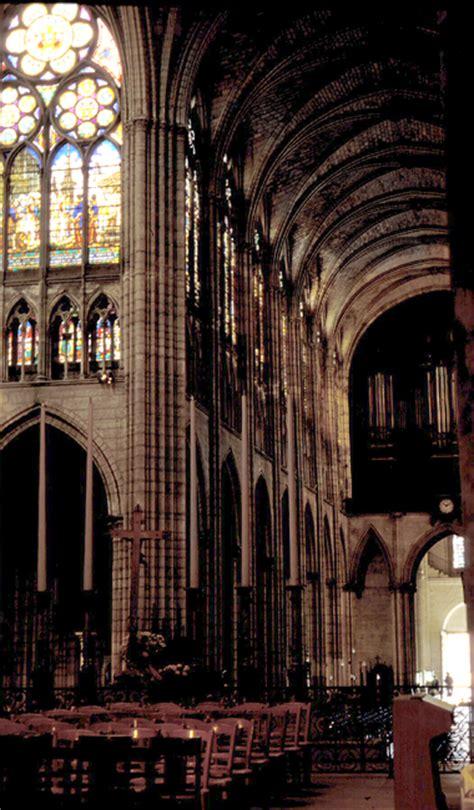 medieval saint denis nave  transept