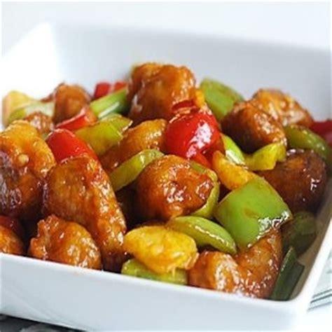 cuisine chinoise porc porc 224 la sauce aigre douce de chine recette chinoise