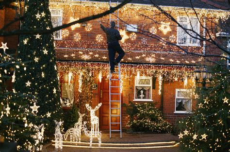 decorations to hang outside of houses learn to hang outdoor lights