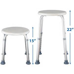 shower stool adjustable bath seat chair for elderly