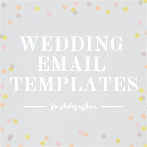 Check Out These Wedding Email Templates For Photographers Featuring 3 Month Out Email Timeline Wedding Email Template