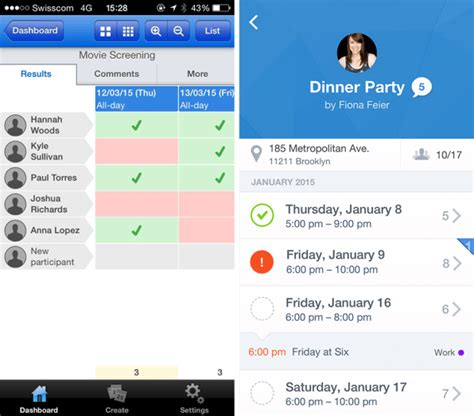 doodle poll ios scheduling app doodle tries to redesign itself for an a