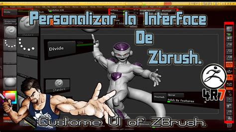 zbrush tutorial interface tutorial zbrush en espa 241 ol modificar nuestra interface