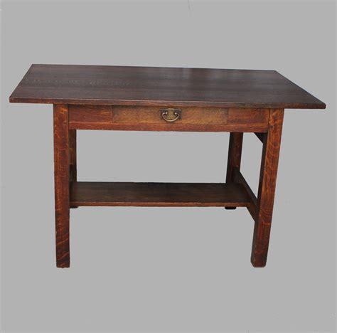 stickley desk bargain s antiques 187 archive gustav stickley oak