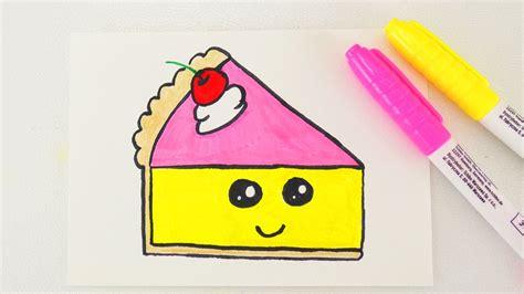 kuchen malen kawaii cake diy niedlichen kuchen zeichnen f 252 r