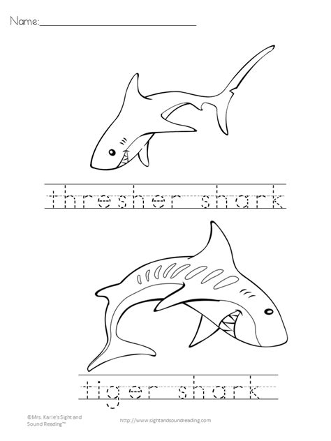 shark coloring pages games sh sound digraph game