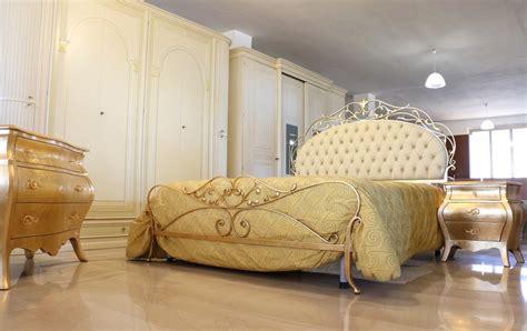ladario classico da letto da letto in stile classico foglia oro panna